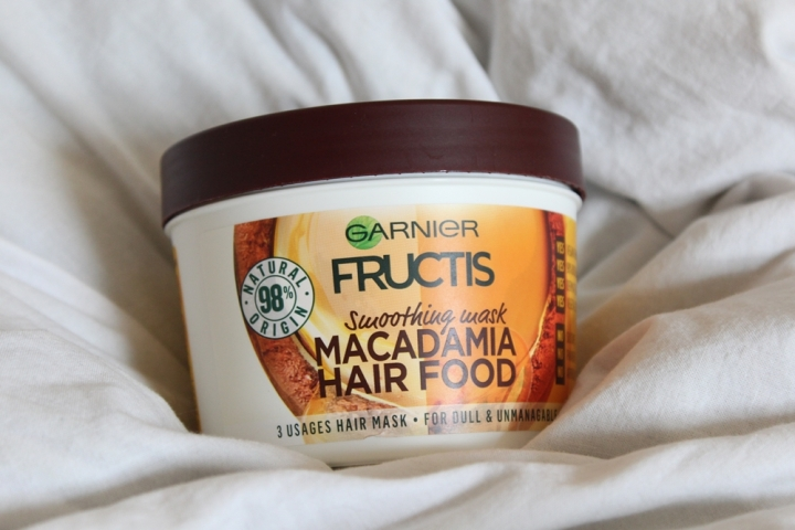 Garnier Fructis Hair Food Macadamia Smoothing Hair Mask for Dull and Unmanagable Hair