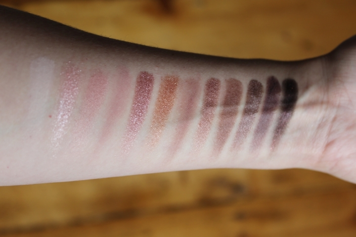Makeup Revolution Iconic 3 Eyeshadow Palette Swatches Urban Decay Naked 3 Dupe