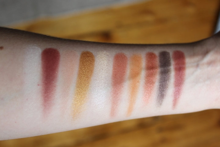 NYX Cosmetics Perfect Filter Rustic Antique Swatches NYX Perfect Filter Swatches