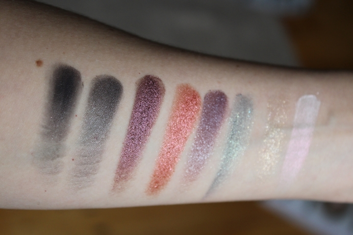 Catrice The Glitterizer Mix n Match Eyeshadow Palette Swatches Catrice Fall Winter 2018 Collection